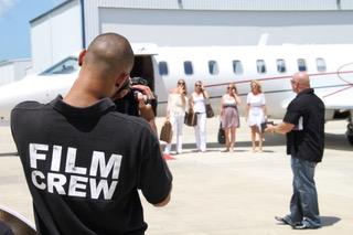 Chuck Ardezzone InTroubleZone Filming Crew